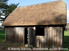 Anglo Saxons Houses and Saxon villages.