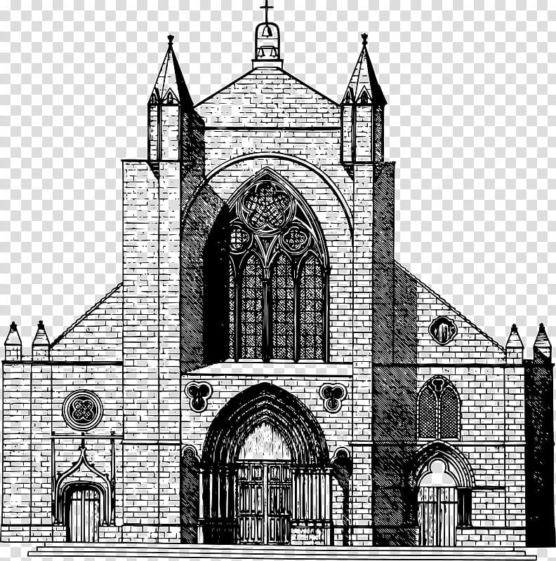 Church, Medieval Architecture, Middle Ages, Facade, Basilica.