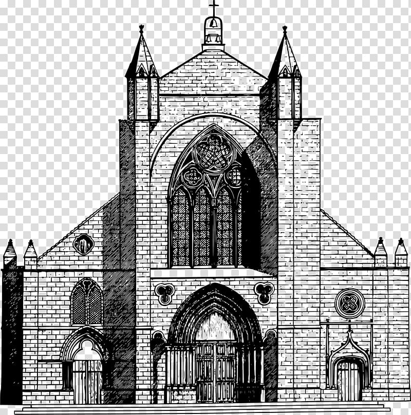 Anglo saxon churches black clipart Transparent pictures on F.