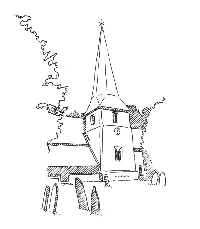 Church Drawing at GetDrawings.com.