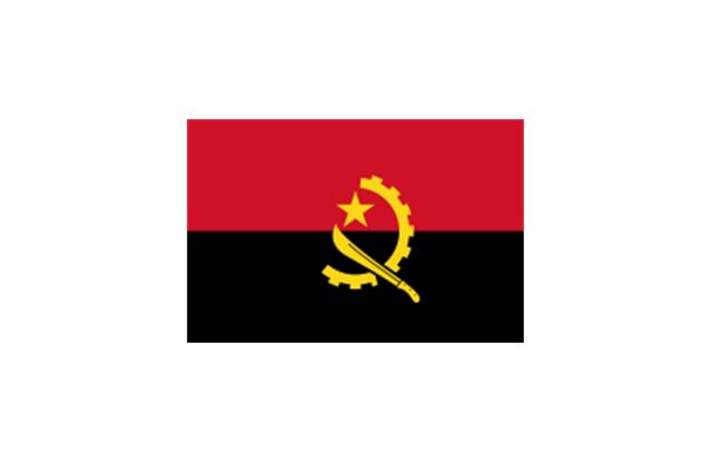 angola flag clipart.