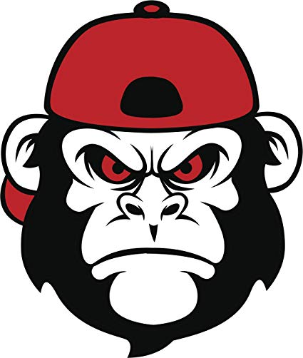 Ape clipart angry monkey, Ape angry monkey Transparent FREE.