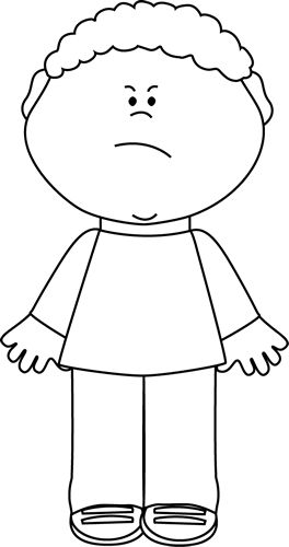 Angry african american child clipart clipart images gallery.