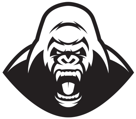 Angry Gorilla Png Angry Gorilla Head Vector.