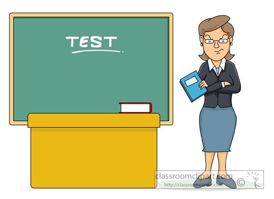 Angry Teacher Clipart.