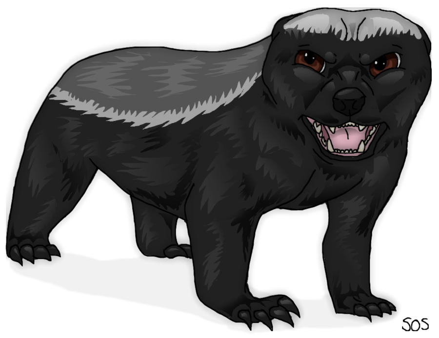 Angry badger broom clipart clipart images gallery for free.