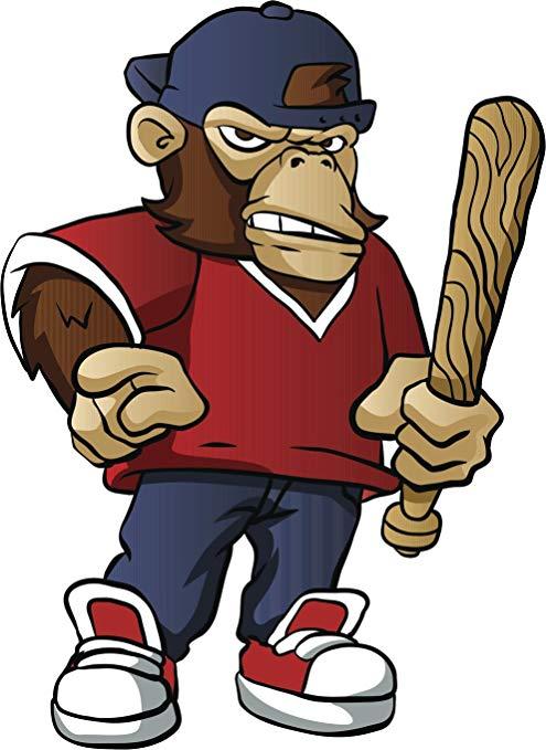 Amazon.com: Divine Designs Angry Teenage Monkey Boy with.