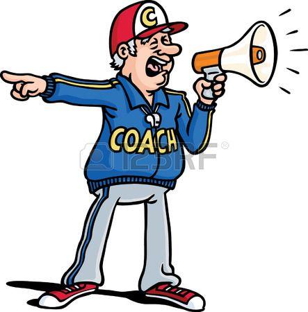 Coach Clipart.