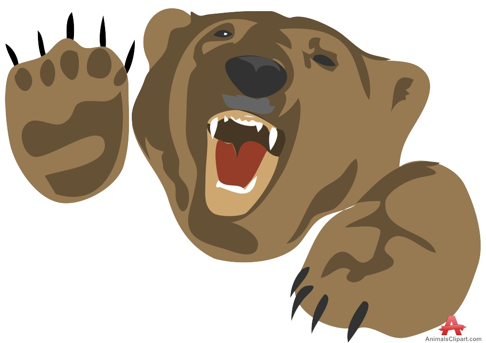 Angry bear clipart 5 » Clipart Station.