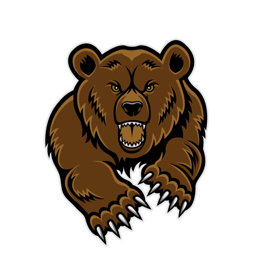 Best Angry Bear Clipart.