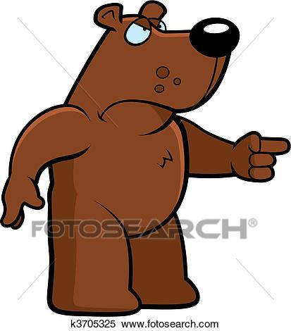 Angry bear clipart 5 » Clipart Portal.