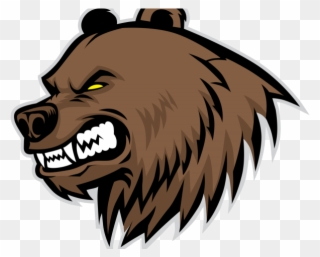 Free PNG Angry Bear Clip Art Download.
