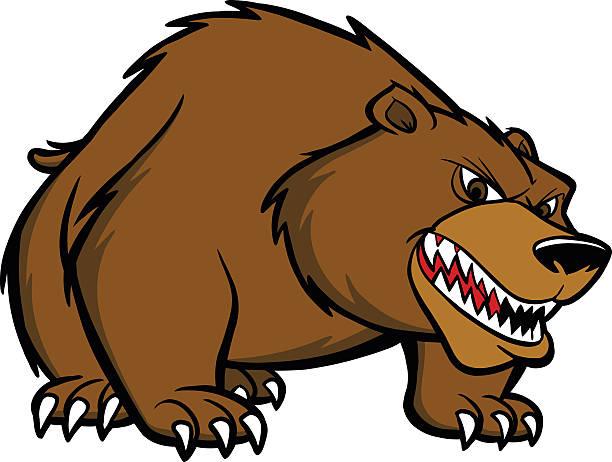 21073 Bear free clipart.
