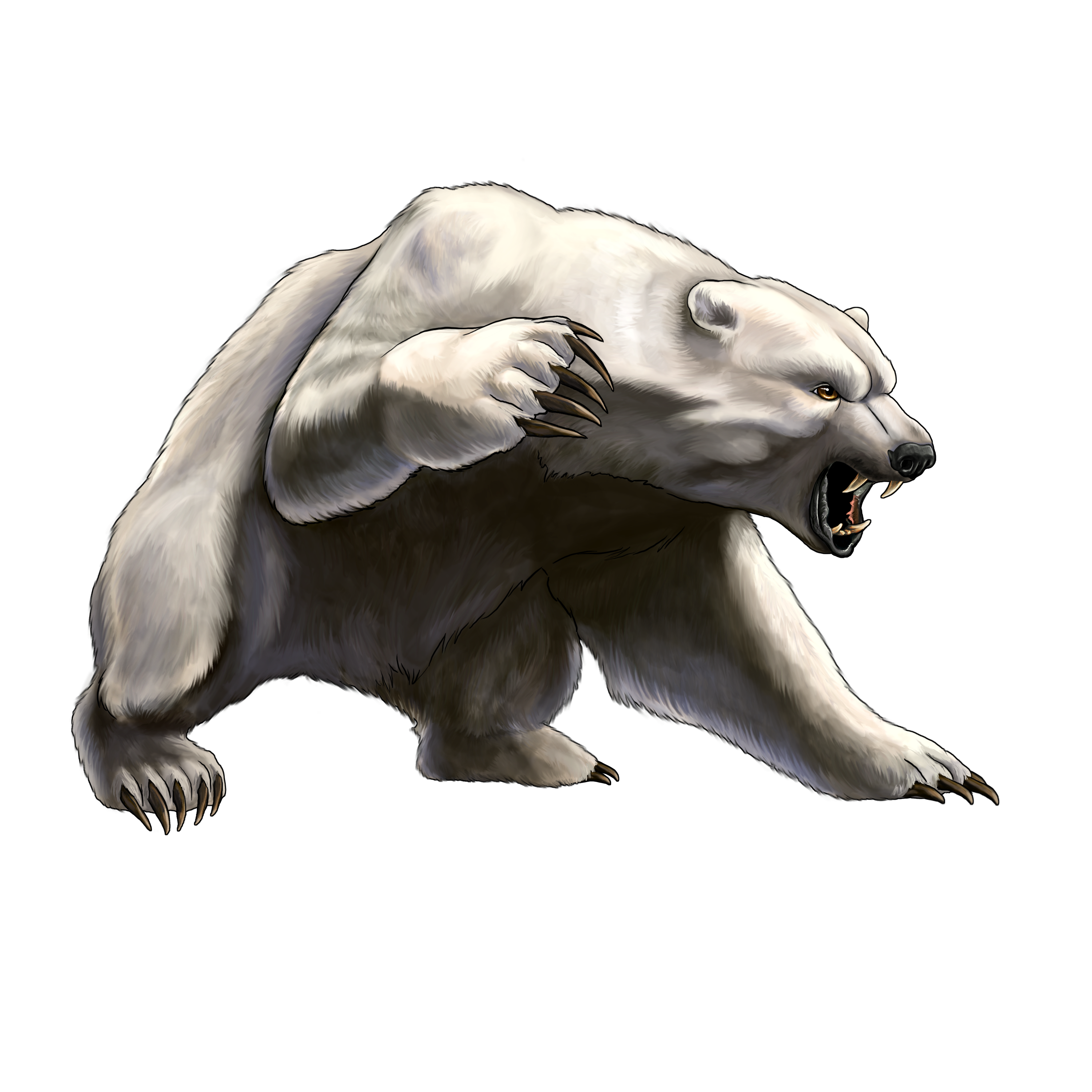 Best Angry Bear Clipart #29825.