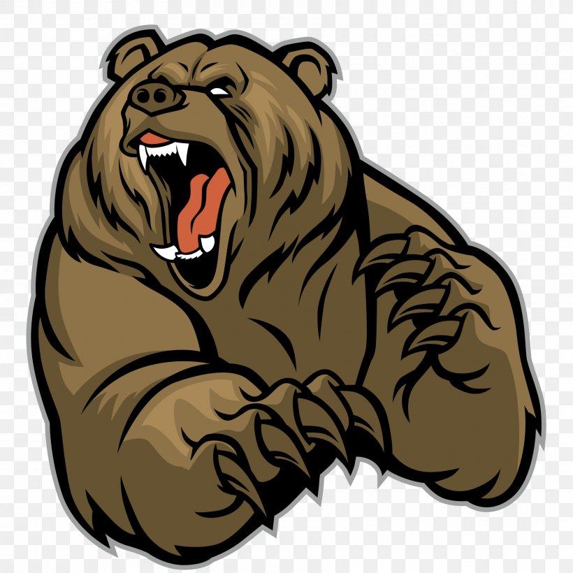 Polar Bear Brown Bear Grizzly Bear, PNG, 1800x1800px, Bear.