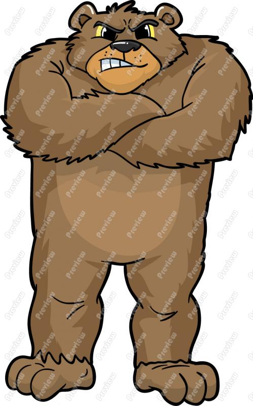 Angry Bear Clipart at GetDrawings.com.