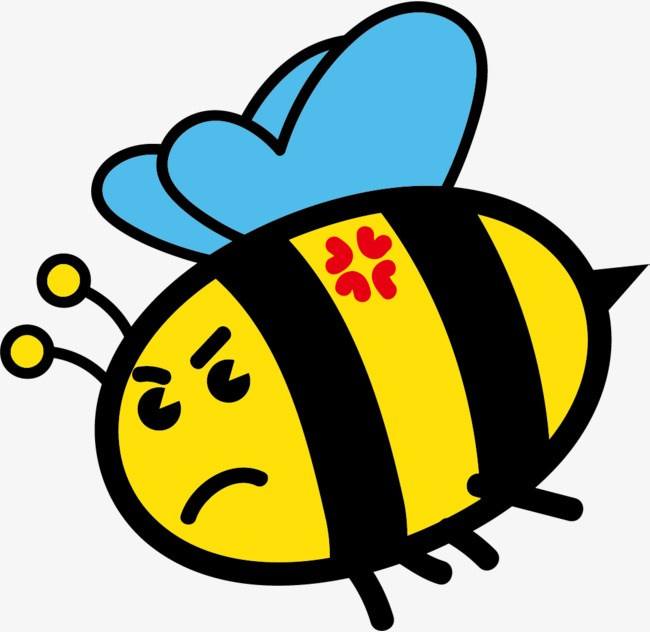 Angry bee clipart 4 » Clipart Portal.