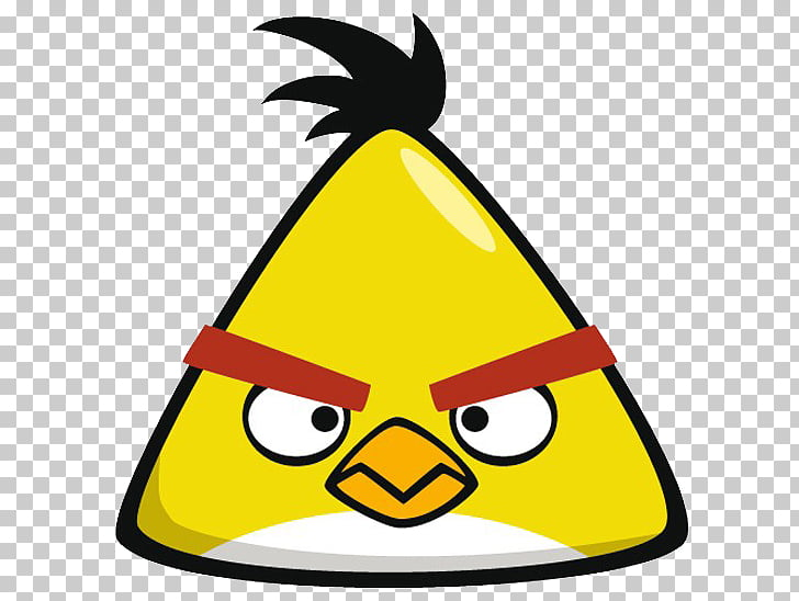 Angry Birds Yellow Desktop , Angry Bird PNG clipart.