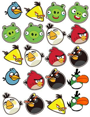 The Sew*er, The Caker, The CopyCat Maker: Angry Bird Printables, for.