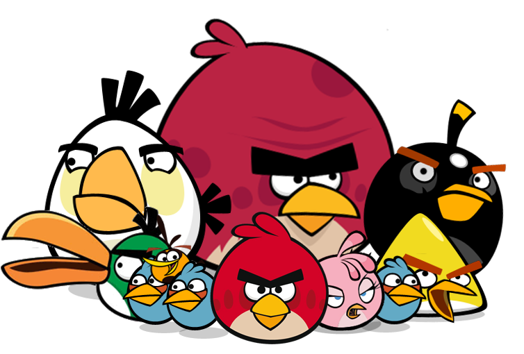 Free Angry Birds Clipart Pictures #46194.