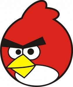 Angry Birds Red.