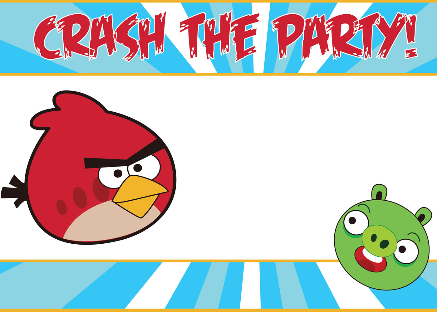 What Would Angela Do?: Angry Birds Birthday Party!.