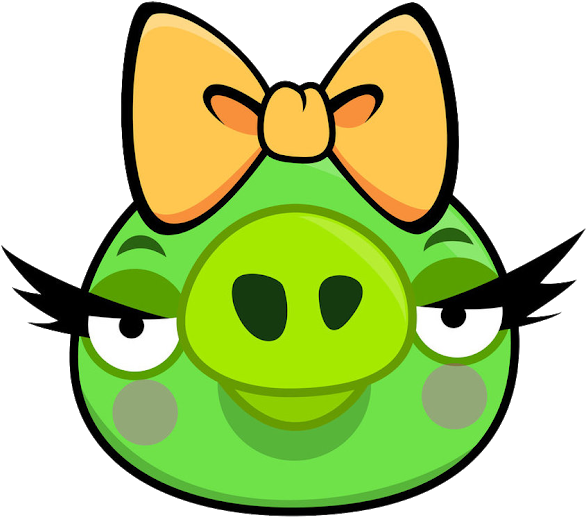 Bad Piggies Angry Game Characters.