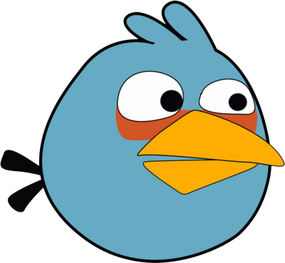 Excellent Ideas Blue Bird Clipart Image Of Angry 3003.