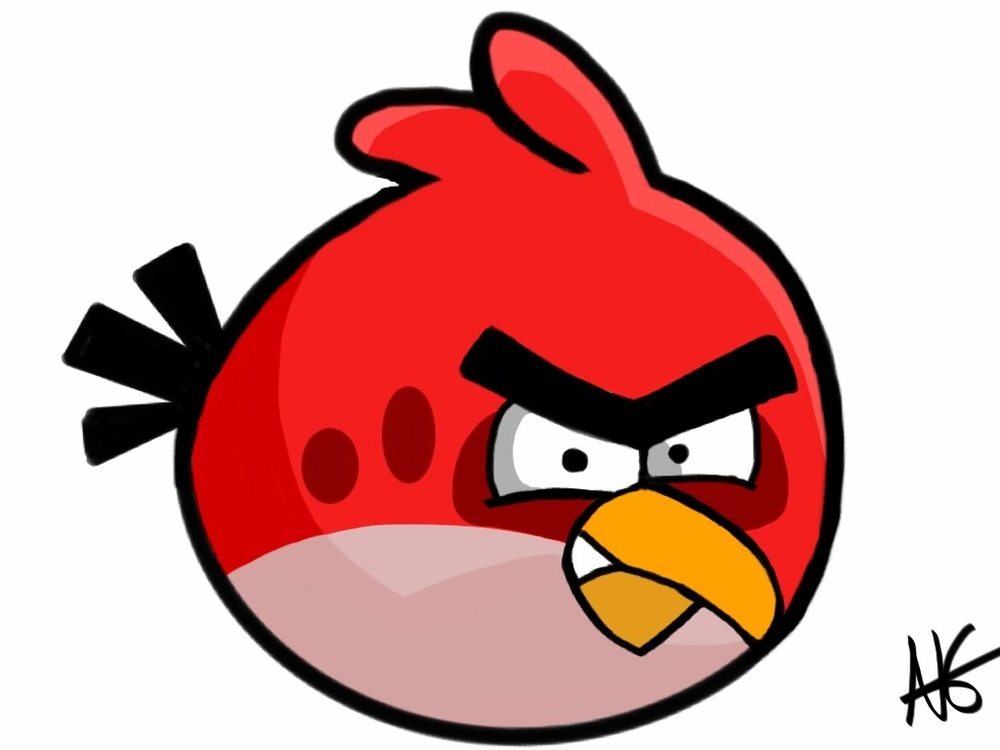 Angry birds clipart 1 » Clipart Station.