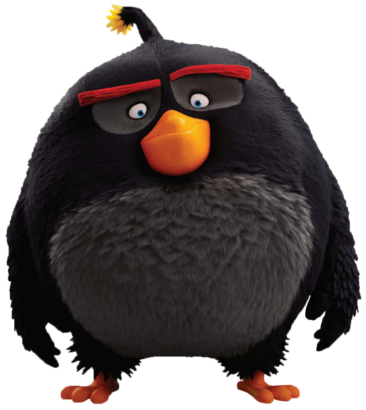 The Angry Birds Movie Bomb PNG Transparent Image.