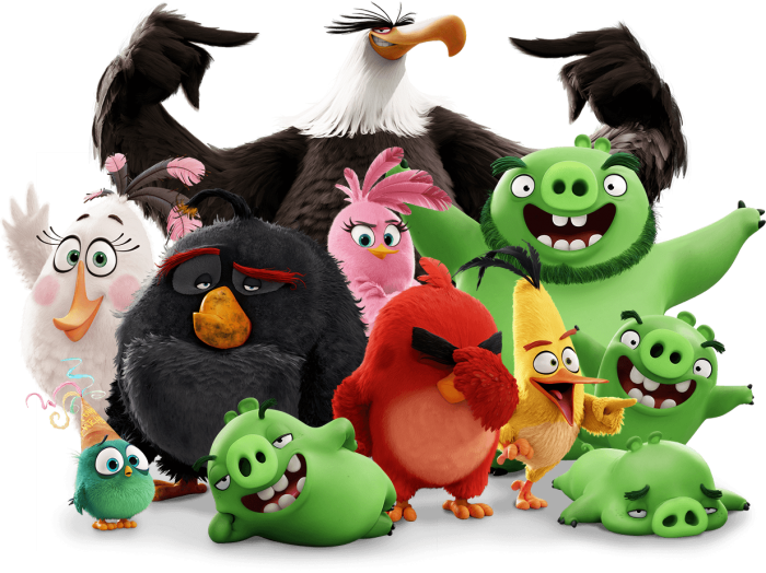 Angry Birds Movie Png Vector, Clipart, PSD.