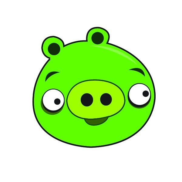 Angry birds pig clipart » Clipart Portal.