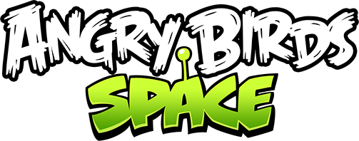 Angry Birds Space Logo transparent PNG.