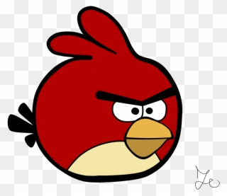 Red Angry Bird Without.