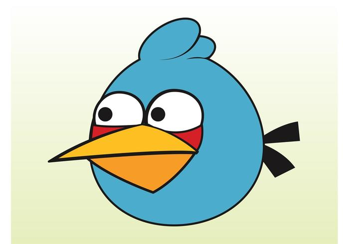 Blue Angry Bird.