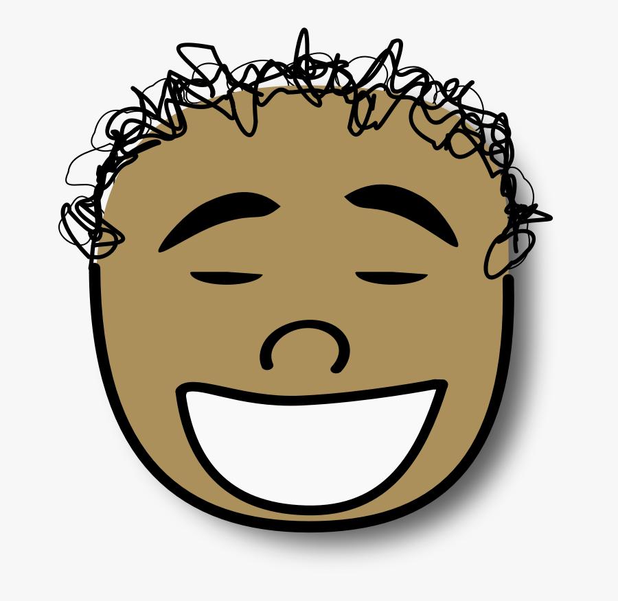 Cartoon Christian Clip Art Laughter Hair Face.