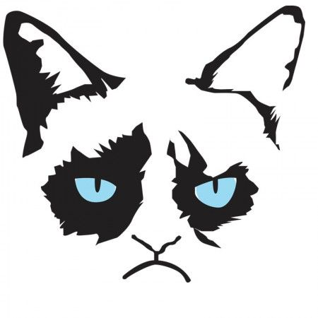 Gallery For > Grumpy Cat Clipart.