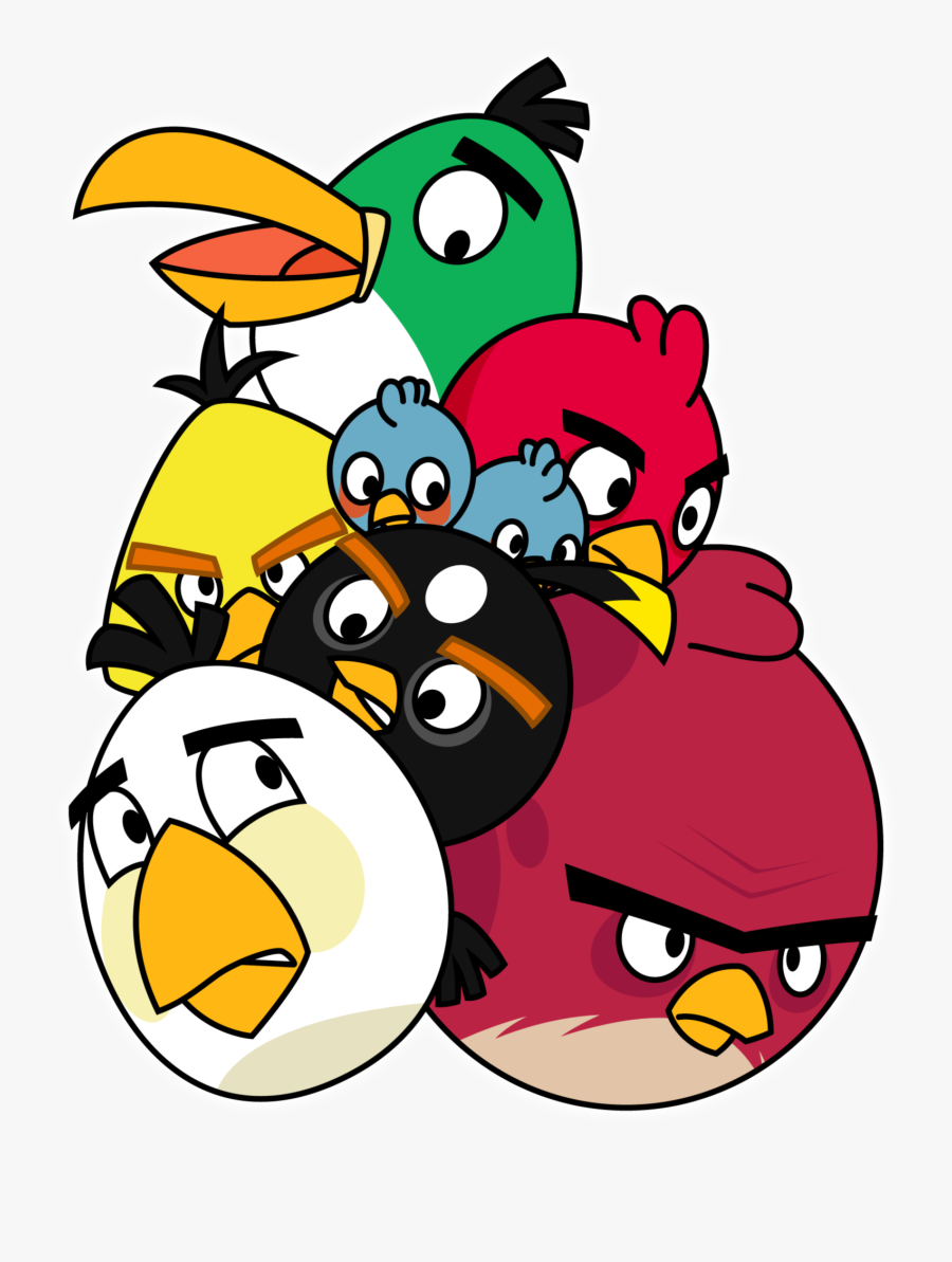 Angry Birds Characters Png , Free Transparent Clipart.