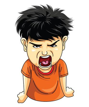9,929 Angry Child Cliparts, Stock Vector And Royalty Free Angry.