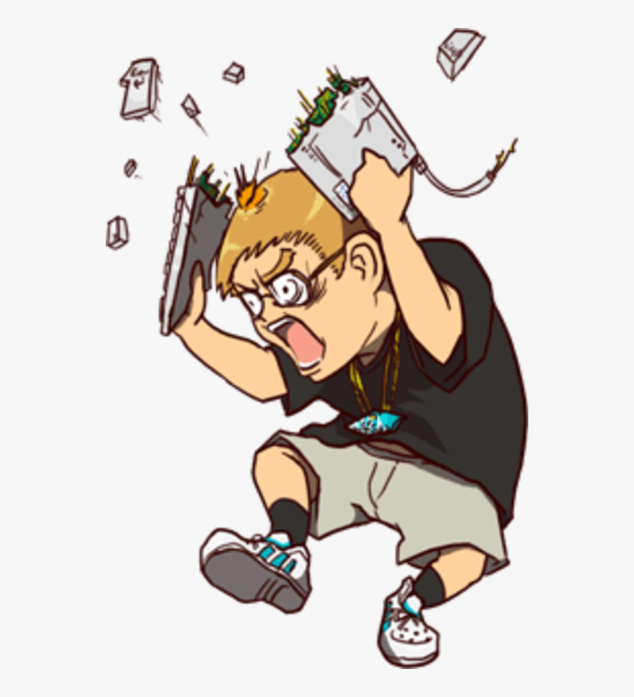 Transparent Angry Children Clipart.