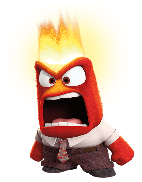 Anger clipart inside out, Anger inside out Transparent FREE.