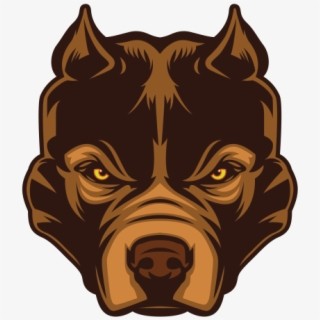 Transparent Angry Dog Head Clipart, Angry Dog Head.