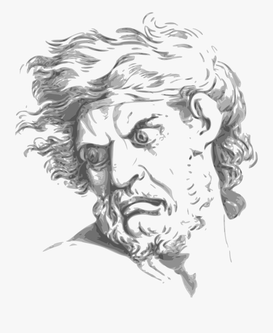 Angry God Face , Transparent Cartoons.
