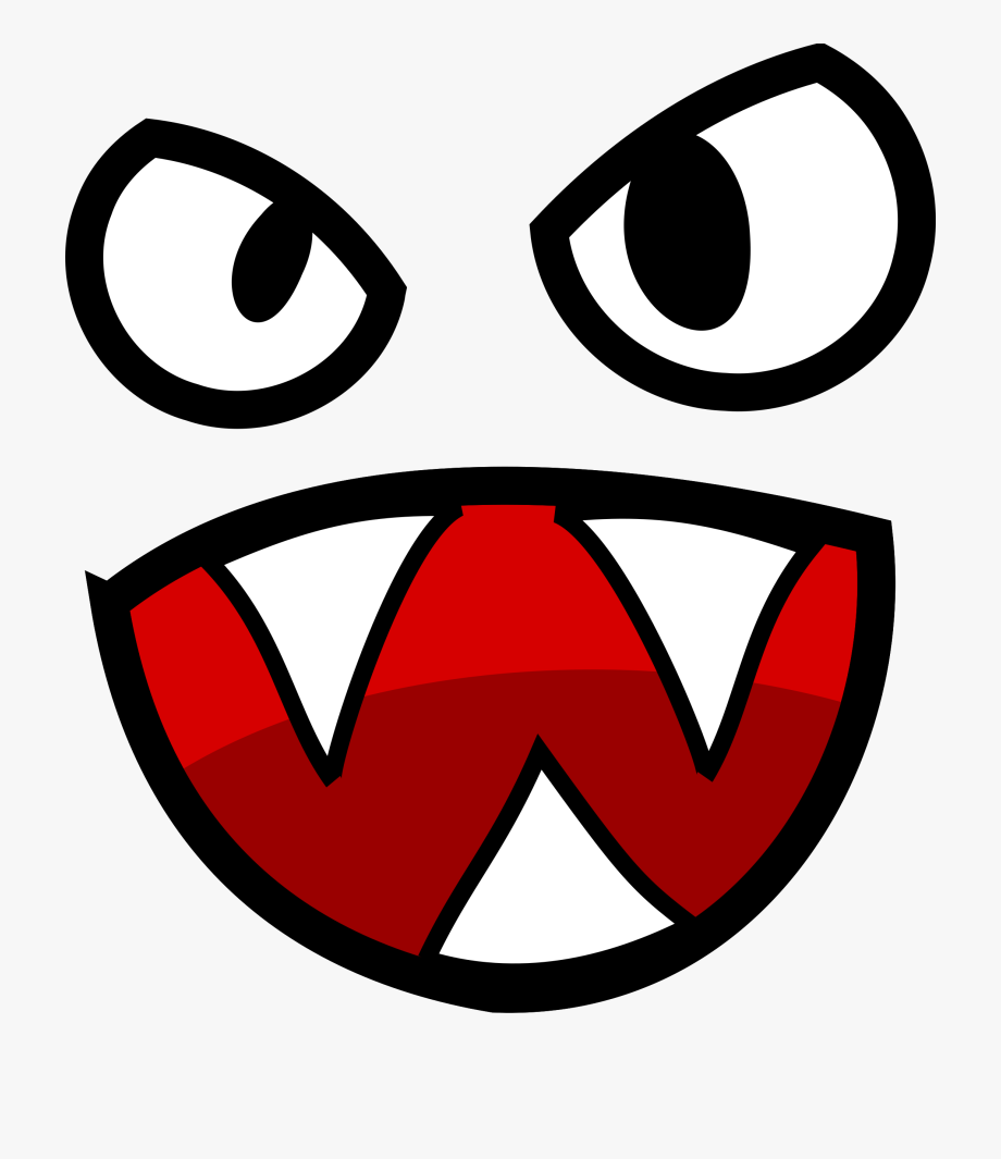 Angry Eye Transparent Clipart 157,16kb Download.