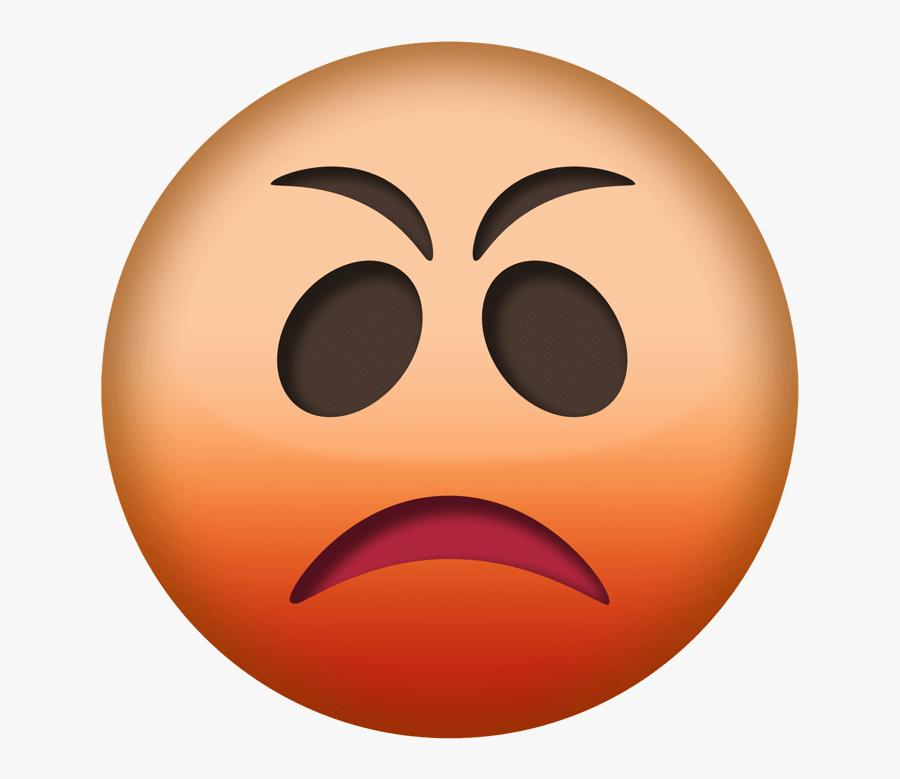 Angry Emoji Png Transparent.