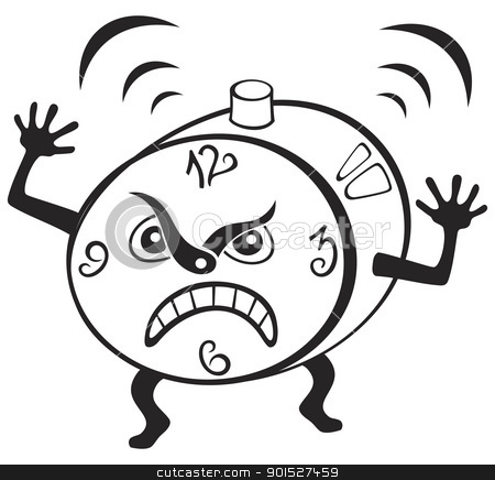 Clipart clock angry, Clipart clock angry Transparent FREE.