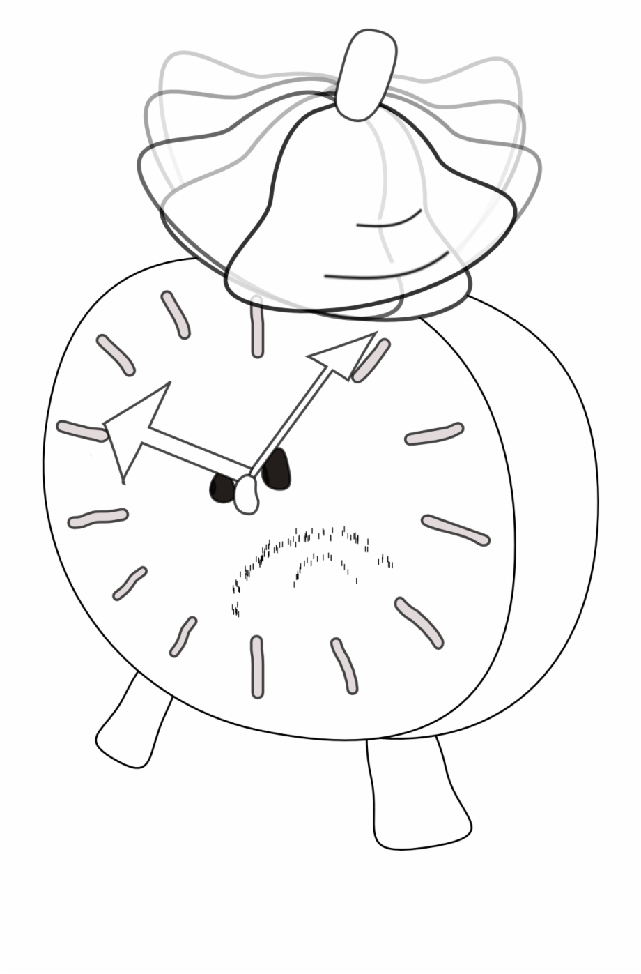 Clock Clipart Angry.