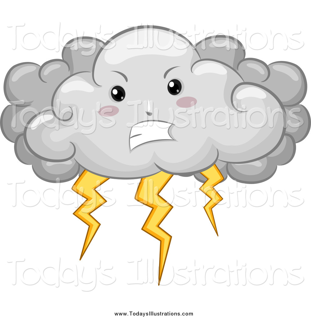 9328 Cloud free clipart.