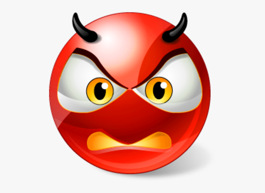 Devil Clipart Angry.