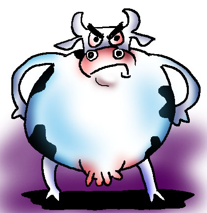 Free Mad Cow Cliparts, Download Free Clip Art, Free Clip Art.